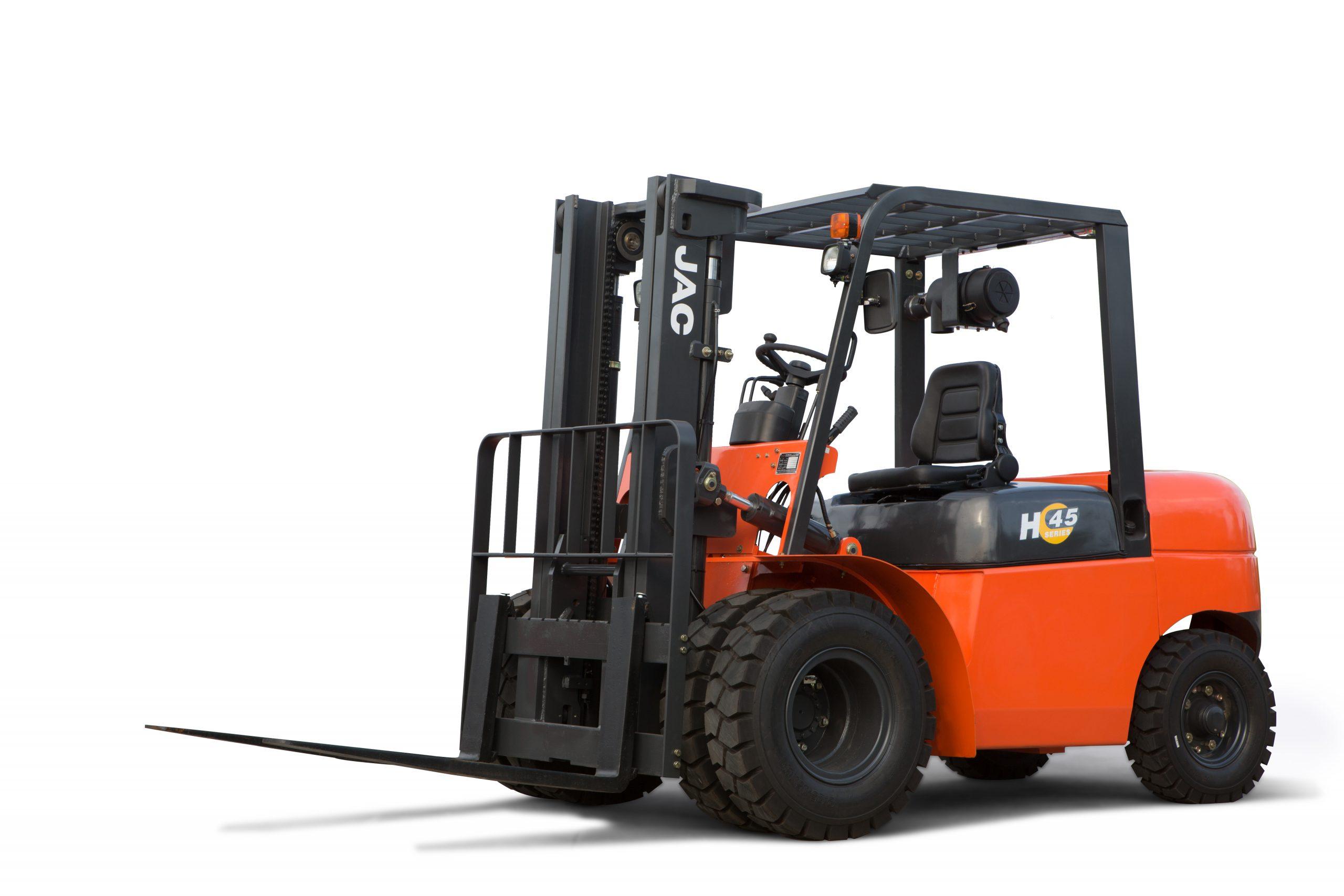 Xe nâng diesel JAC 4,5 tấn