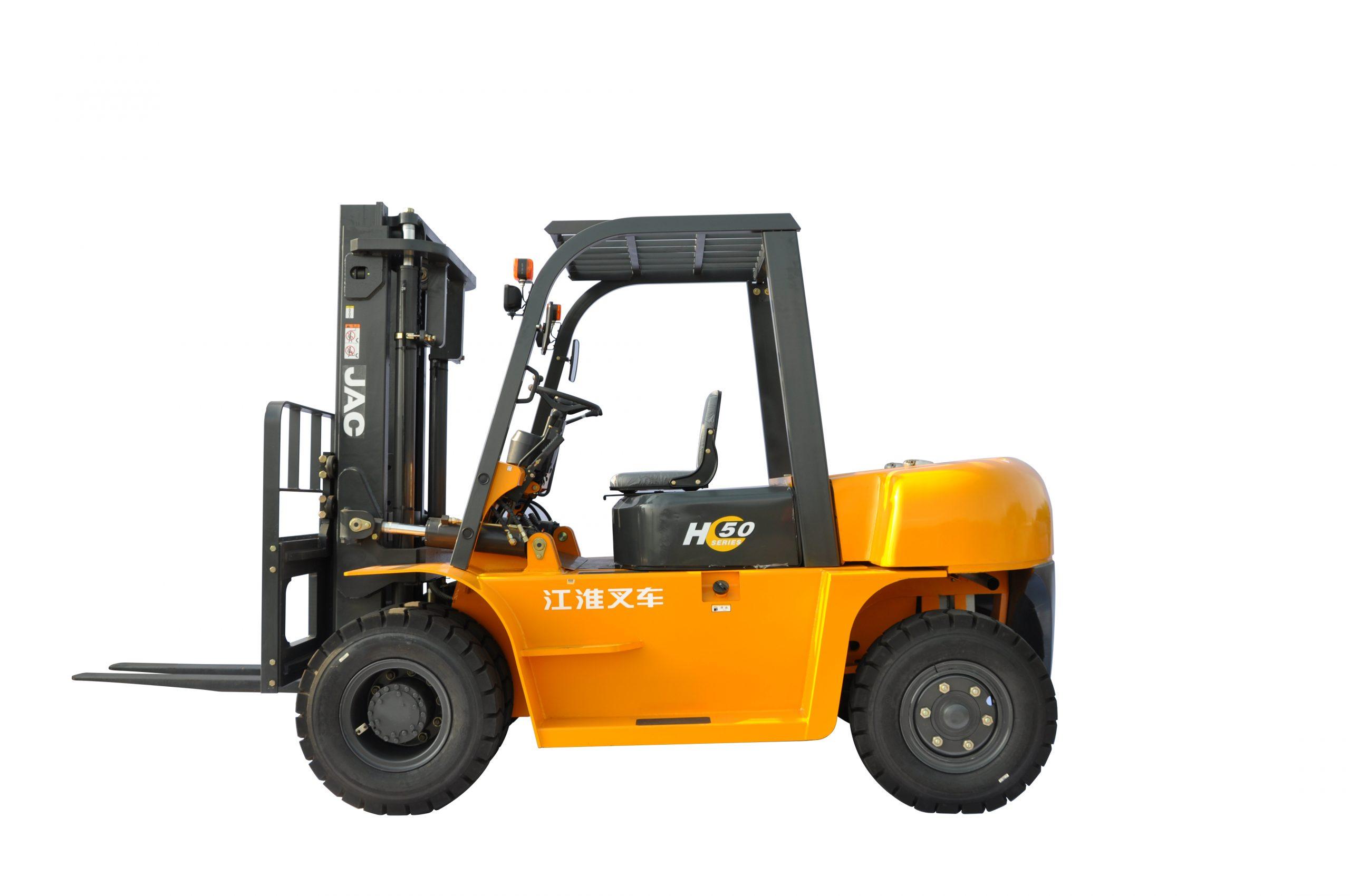 Xe nâng diesel JAC 5 tấn